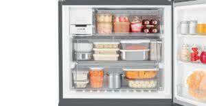 Geladeira / Refrigerador Side by Side Inverse Bottom 540 litros Frost Free Ice Maker Preto - BRO80AEANA - Brastemp 110 V 6