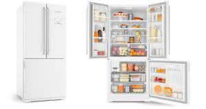 Geladeira / Refrigerador Side by Side Inverse Bottom 540 litros Frost Free Ice Maker Branco - BRO80ABANA - Brastemp 110 V 7