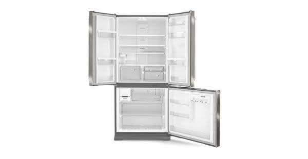 Geladeira / Refrigerador Side by Side Inverse Bottom Ice Maker 540 litros Frost Free Inox - BRO80AKBNA - Brastemp 220 V 6