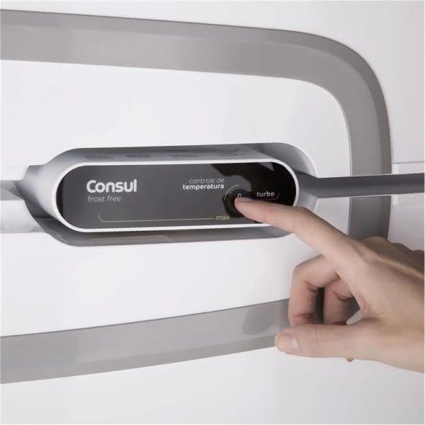 Geladeira / Refrigerador Duplex 275 litros Frost Free Branco - CRM35NBANA - Consul 110 V 8
