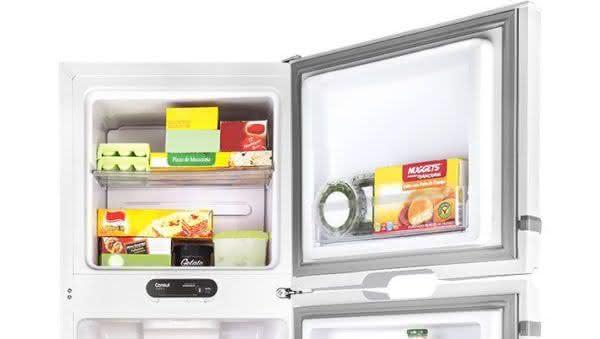 Geladeira / Refrigerador Duplex 275 litros Frost Free Branco - CRM35NBANA - Consul 110 V 3