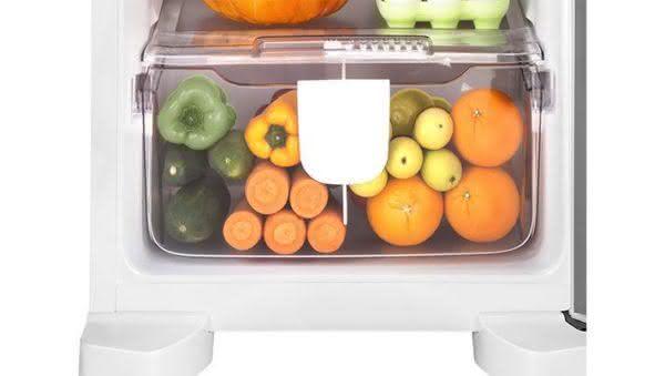Geladeira / Refrigerador Duplex 275 litros Frost Free Branco - CRM35NBANA - Consul 110 V 2