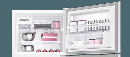 Geladeira / Refrigerador Duplex 459 litros Frost Free Branco Blue Touch DF54 - Electrolux 220 V 2