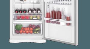 Geladeira / Refrigerador Duplex 459 litros Frost Free Branco Blue Touch DF54 - Electrolux 220 V 16