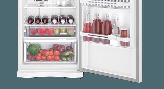 Geladeira / Refrigerador Duplex 459 litros Frost Free Branco Blue Touch DF54 - Electrolux 220 V 3