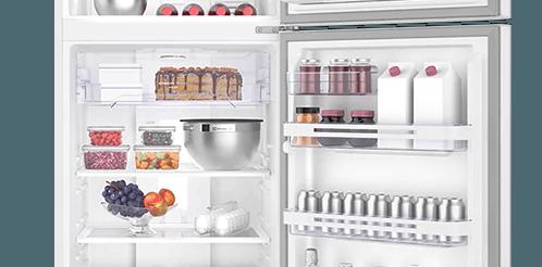 Geladeira / Refrigerador Duplex 459 litros Frost Free Branco Blue Touch DF54 - Electrolux 220 V 4