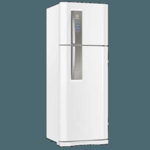 Geladeira / Refrigerador Duplex 459 litros Frost Free Branco Blue Touch DF54 - Electrolux 220 V 13