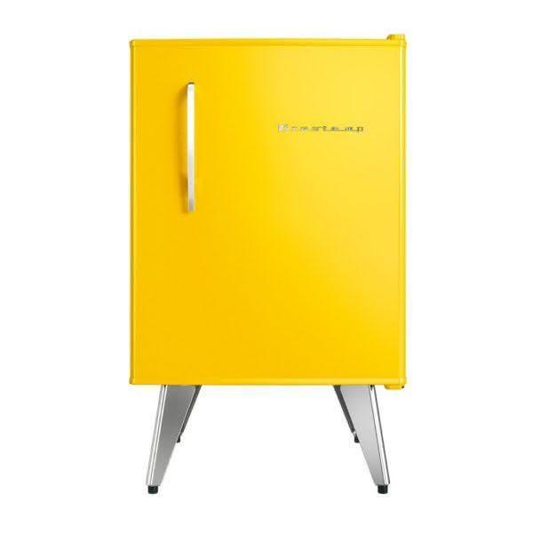 Frigobar 68 litros Degelo Manual Amarelo Retrô - BRA08BYANA - Brastemp 110 V 2