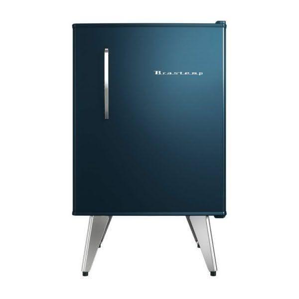 Frigobar 76 litros Degelo Manual Azul Retrô - BRA08BZANA - Brastemp 110 V 3