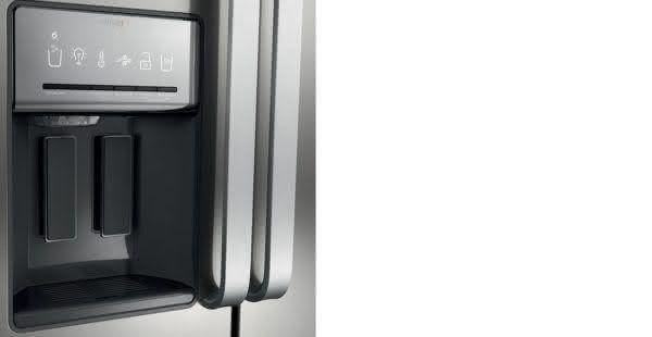 Geladeira / Refrigerador Side by Side Brastemp 560 litros com Dispenser de Água e Gelo Branco - BRS62CBANA - Brastemp 110 V 4