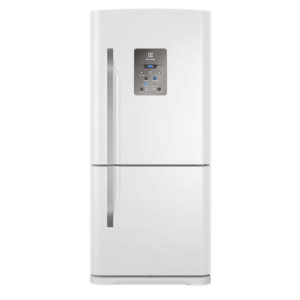 Geladeira / Refrigerador Inverse Bottom 598 litros Frost Free Branco - DB84 - Electrolux 110 V