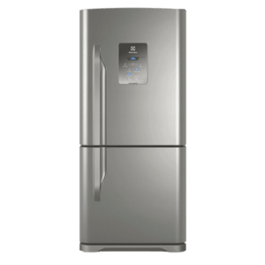 Geladeira / Refrigerador Inverse Bottom 598 litros Frost Free Inox - DB84X - Electrolux 110 V