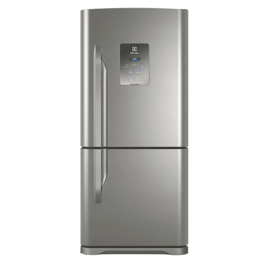 Geladeira / Refrigerador Inverse Bottom 598 litros Frost Free Inox - DB84X - Electrolux 110 V 1
