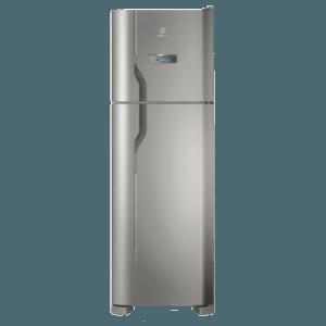 Geladeira / Refrigerador Duplex 371 litros Frost Free Inox - DFX41 - Electrolux 220 V