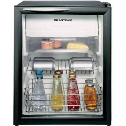 Frigobar 120 litros Frost Free Porta de Vidro - BZA12AFANA - Brastemp 110 V 1