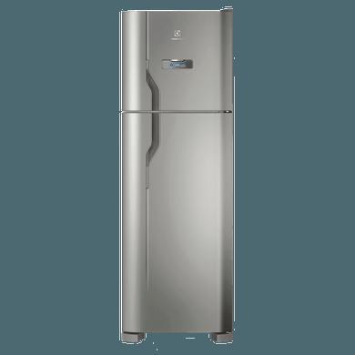 Geladeira / Refrigerador Duplex 371 litros Frost Free Inox - DFX41 - Electrolux 110 V 1