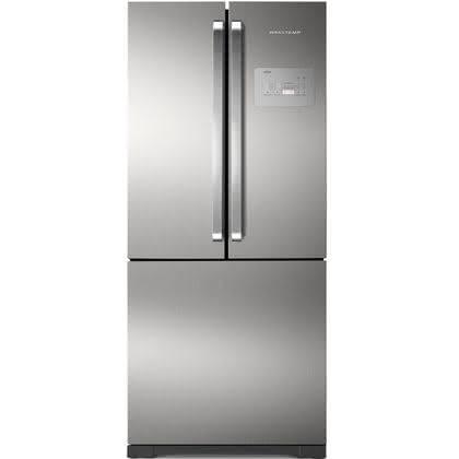 Geladeira / Refrigerador Side by Side Inverse Bottom Ice Maker 540 litros Frost Free Inox - BRO80AKBNA - Brastemp 220 V 1