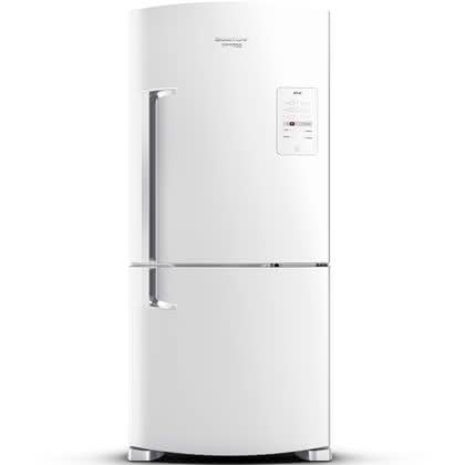 Geladeira / Refrigerador Inverse 573 litros Smart Ice Frost Free Branco - BRE80ABANA - Brastemp 110 V 1