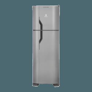 Geladeira / Refrigerador Duplex 261 litros Frost Free Inox - DF35X - Electrolux 110 V