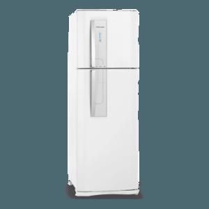Geladeira / Refrigerador Duplex 382 litros Frost Free Branco Blue Touch DF42 - Electrolux 110 V
