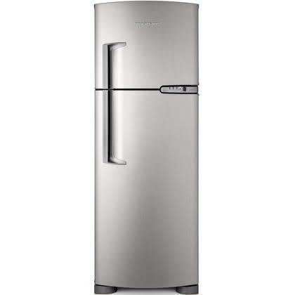 Geladeira / Refrigerador Duplex 352 litros Frost Free Inox - BRM39EKANA - Brastemp 110 V 1
