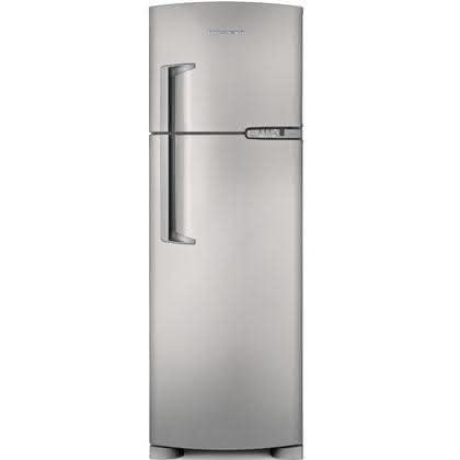 Geladeira / Refrigerador Duplex 378 litros Frost Free Inox - BRM42EKBNA - Brastemp 220 V 1
