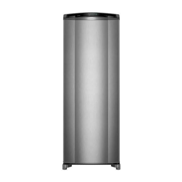 Geladeira / Refrigerador 342 litros Frost Free Inox Gavetão Hortifruti - CRB39AKANA - Consul 110 V 1