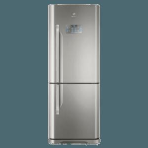 Geladeira / Refrigerador Inverse Bottom 454 litros Frost Free Inox - DB53X - Electrolux 110 V