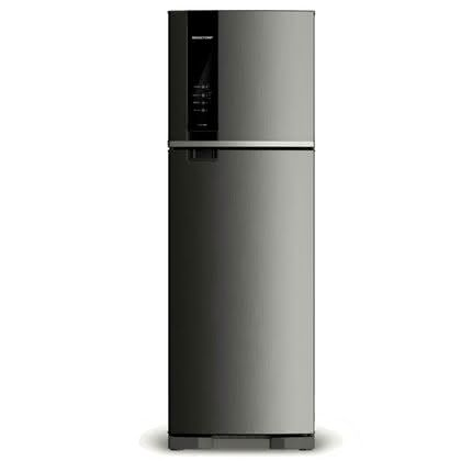 Geladeira / Refrigerador Duplex 400 litros Frost Free Inox - BRM53HKANA - Brastemp 110 V 1