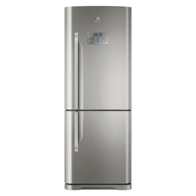 Geladeira / Refrigerador Inverse Bottom 454 litros Frost Free Inox - DB53X - Electrolux 220 V 1