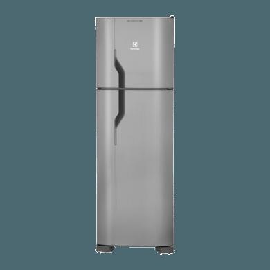 Geladeira / Refrigerador Duplex 261 litros Frost Free Inox - DF35X - Electrolux 110 V 1