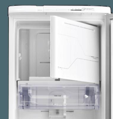 Geladeira / Refrigerador 323 litros Frost Free Branco Painel Blue Touch RFE39 - Electrolux 110 V 4