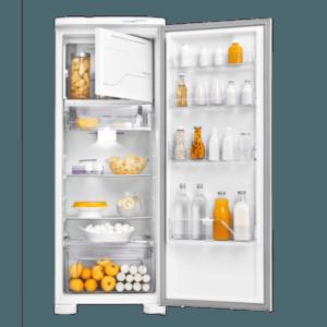 Geladeira / Refrigerador 323 litros Frost Free Branco Painel Blue Touch RFE39 - Electrolux 110 V 12