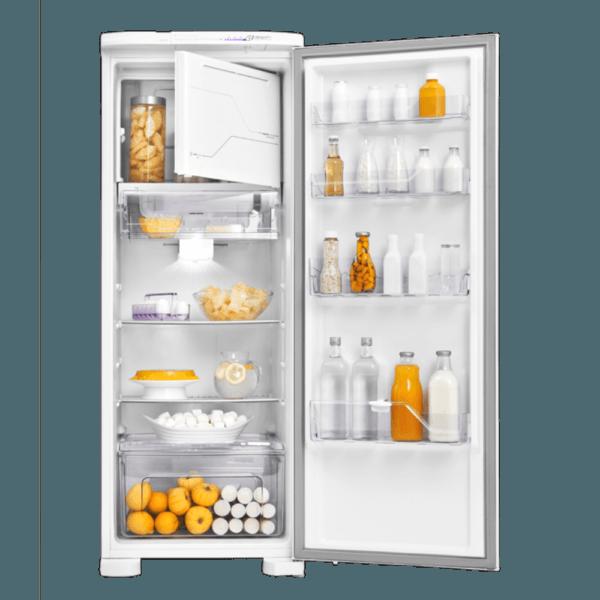 Geladeira / Refrigerador 323 litros Frost Free Branco Painel Blue Touch RFE39 - Electrolux 110 V 7