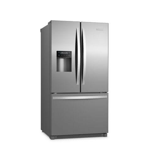 Refrigerador French Door Electrolux Icon com Dispenser de Água e Gelo na Porta 634L Inox (FDI90) 1