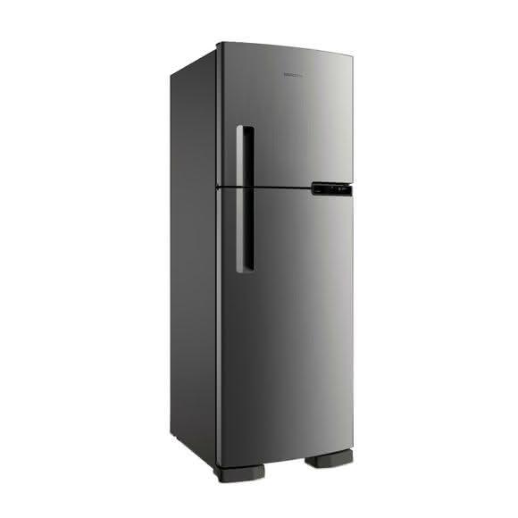 Geladeira / Refrigerador Duplex Brastemp Inox  375 litros 2 portas brm44hkana 110 V 1