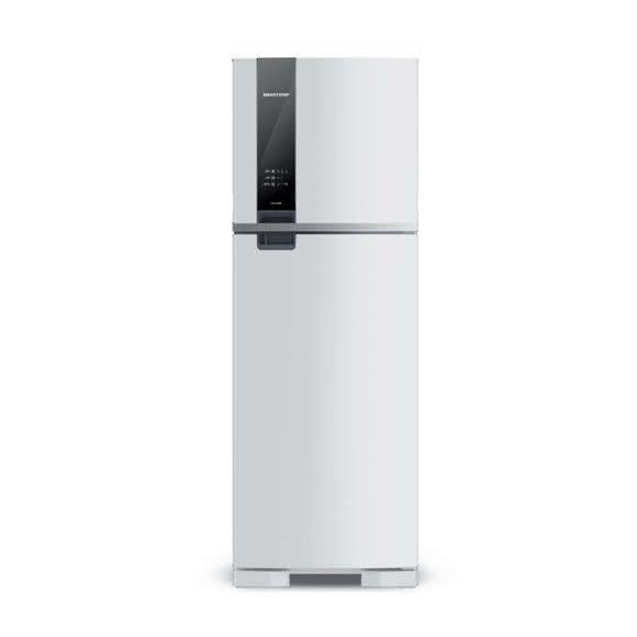 Geladeira / Refrigerador Duplex Brastemp Branca  375 litros 2 portas brm45hbana 110 V 1
