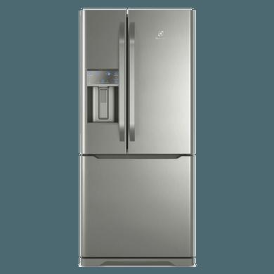 Refrigerador French Door Electrolux com Dispenser de Água e Gelo na Porta 538L Inox (DM85X) 1