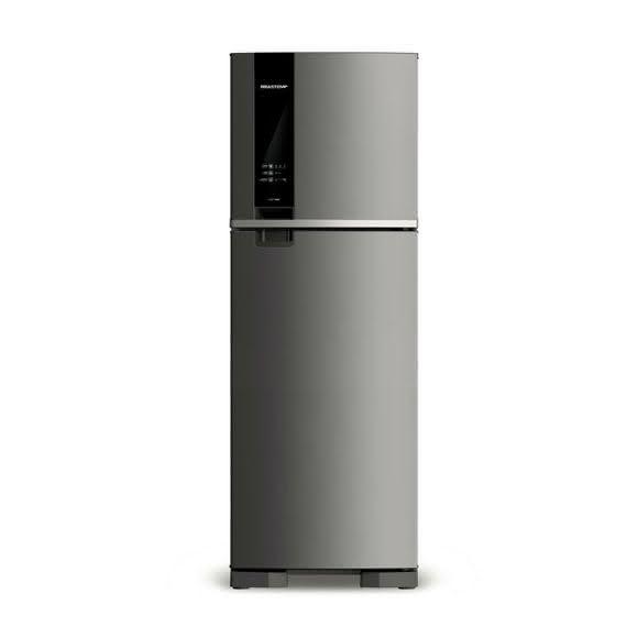 Geladeira / Refrigerador Duplex Brastemp Inox  375 litros 2 portas brm45hkana 110 V 1