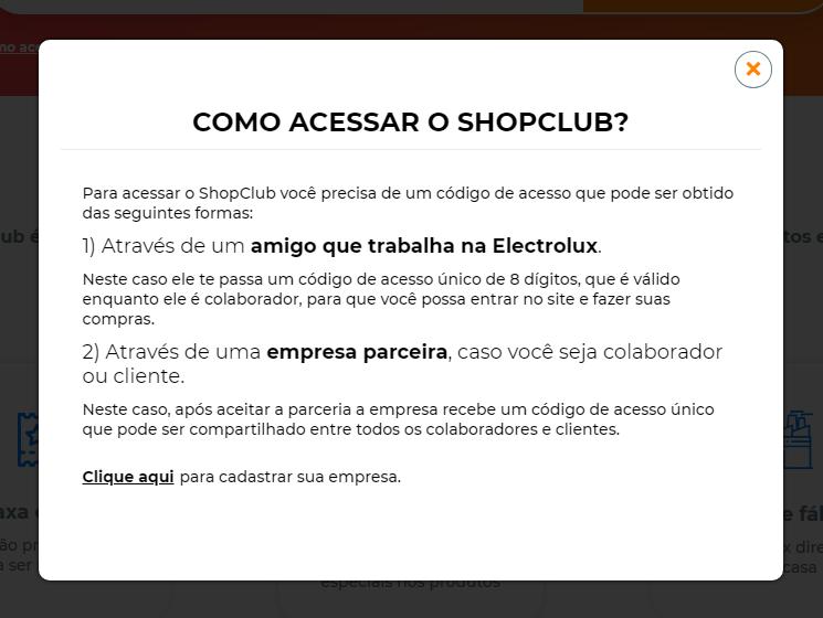 Shopclub: código para comprar + Cupom de 5% de desconto 9