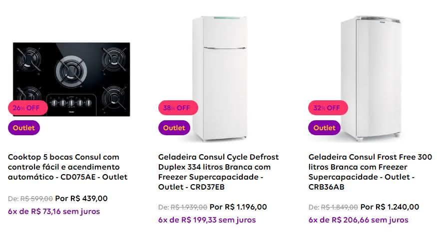 Cupom outlet Compra certa